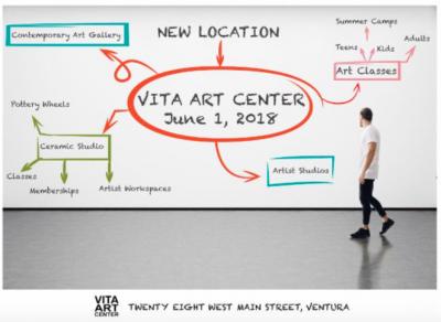 Grand Opening Vita Art Center - New Location
