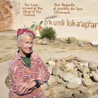 Chumash Village Mural Celebration at the Museum