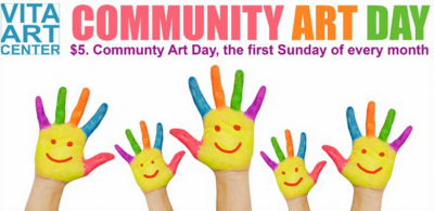 Community Art Day at Vita