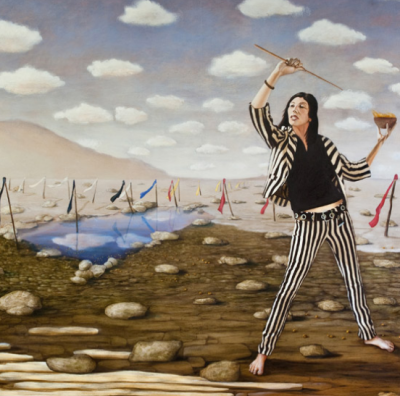 "Michael Pearce's ""The Secret Paintings"""