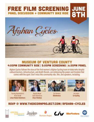 Afghan Cycles Free Film Screening & Community Ride