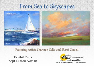 From Sea to Skyscapes Art Opening