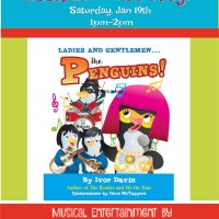 "Book Reading and Launch Party of ""Ladies and Gentlemen...The Penguins!"""