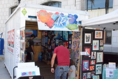 PODS® Creates Downtown Artists Village for the 25th Anniversary of ArtWalk Ventura
