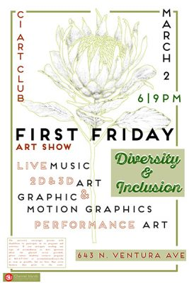 """Opening Reception: """"Diversity and Inclusion,"""" CI Art Club at 643 Project Space"""