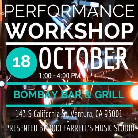 Jodi Farrell's Student Performance Workshop