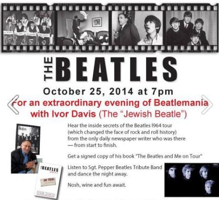 """A Hard Day's Night"" An Evening of Beatlemania with Ivor Davis"