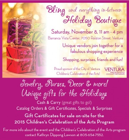 Bling and Everything In-Between Holiday Boutique