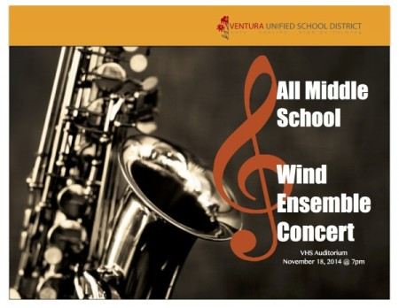 All VUSD Middle School Wind Ensemble Concert