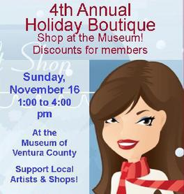 Museum of Ventura County's Annual Boutique