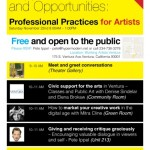 Support, Resources, and Opportunities: Professional Practices for Artists