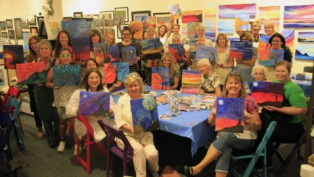 1st & 3rd Friday Painting Parties