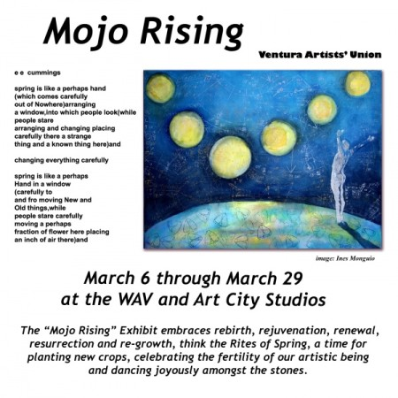 Mojo Rising exhibit at the WAV and Art City Studios