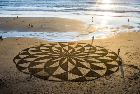 Sand Art with Andres Amador