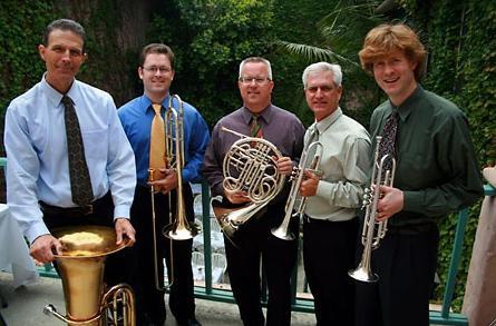 Free concert featuring Festival Brass Quartet