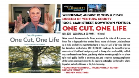 """One Cut, One Life"""