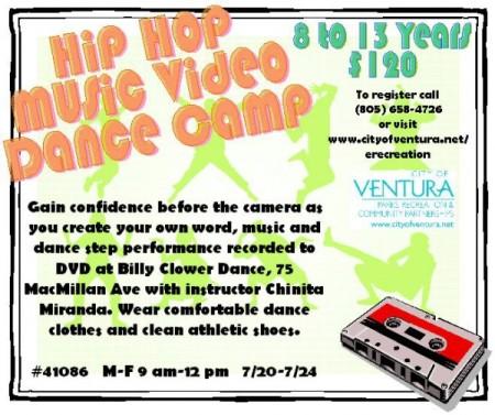 Hip Hop Music Video Dance Camp