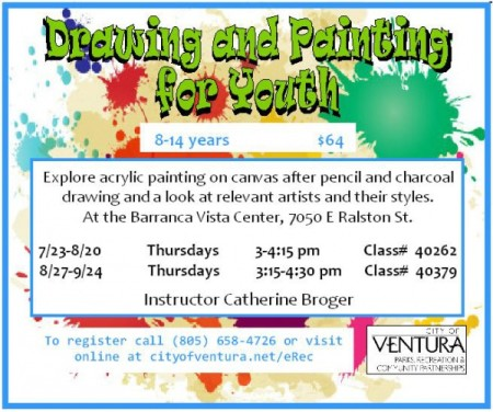 Drawing and Painting for Youth