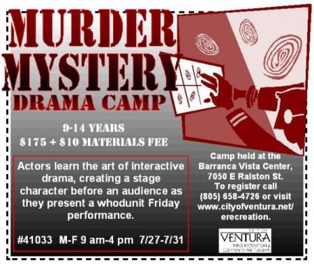 Murder Mystery Drama Camp