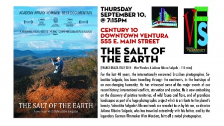 "Ventura Film Society Season 7 Screening # 8 - ""The Salt of the Earth"""