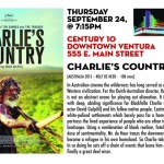 "Ventura Film Society Season 7 Screening # 9 - ""Charlie's County"""