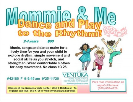 Mommie & Me Dance and Play to the Rhythm