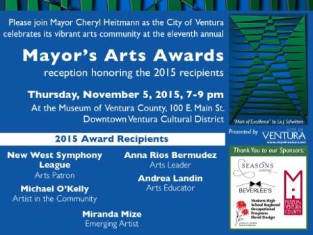 11th Annual Mayor's Arts Awards
