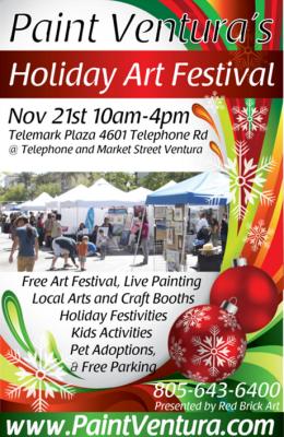 Paint Ventura's Holiday Art Festival