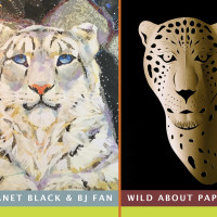 "Janet Black and BiJian Fan: ""Wild About Paper"""