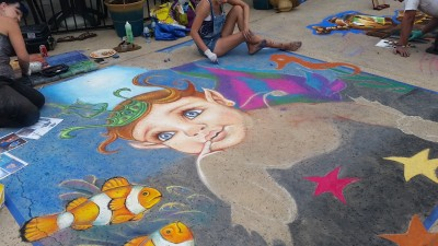 8th Annual Ventura Art & Street Painting Festival Benefits FOOD Share of Ventura County