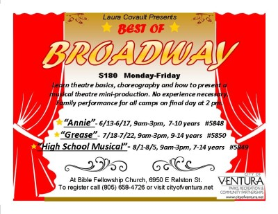 Best of Broadway Musical Theatre Camps