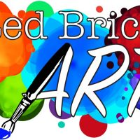 Red Brick Art: Painting Flowers, Bugs and Trees