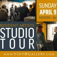 H Gallery Studio tours April 9
