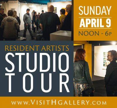 H Gallery Studio tours April 9