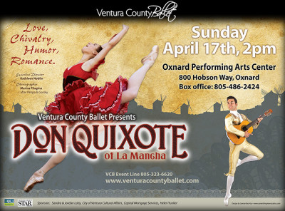 Ventura County Ballet presents Don Quixote