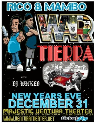 War, Tierra at Ventura Theater
