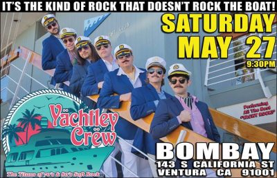 Yachtley Crew Anchors Away At Bombay Bar & Grill